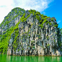 Buy canvas prints of View Of Famous world heritage Halong Bay by Nicolas Boivin