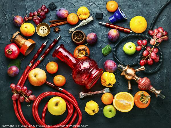 Modern fruit hookah Acrylic by Mykola Lunov Mykola