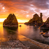 Buy canvas prints of Pettico Wick Sunset by Northern Wild