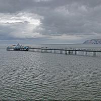 Buy canvas prints of Llandudno Pier by chris hyde