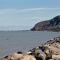 Buy canvas prints of North Wales Coast by chris hyde