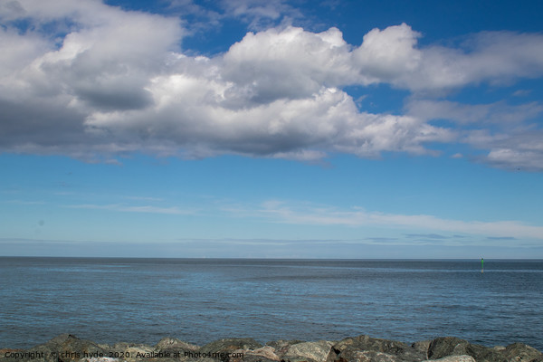 Irish Sea Cloudscape Print by chris hyde