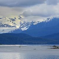 Buy canvas prints of Alaskan Mountain Scene by chris hyde