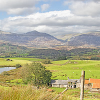 Buy canvas prints of Snowdonia  by chris hyde