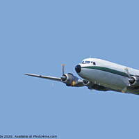 Buy canvas prints of Air Atlantique DC6 by chris hyde