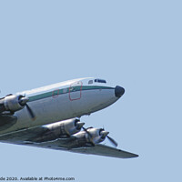 Buy canvas prints of Air Atlantique DC6 by chris hyde
