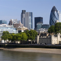 Buy canvas prints of City of London by David French