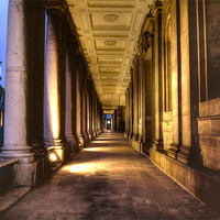 Buy canvas prints of Greenwich Royal Naval College HDR by David French