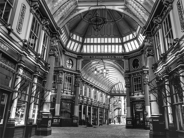 Leadenhall Market Canvas print by David French