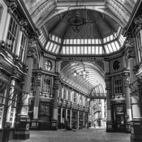 Buy canvas prints of Leadenhall Market by David French