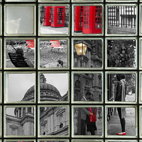 Buy canvas prints of Window on London Sights by David French