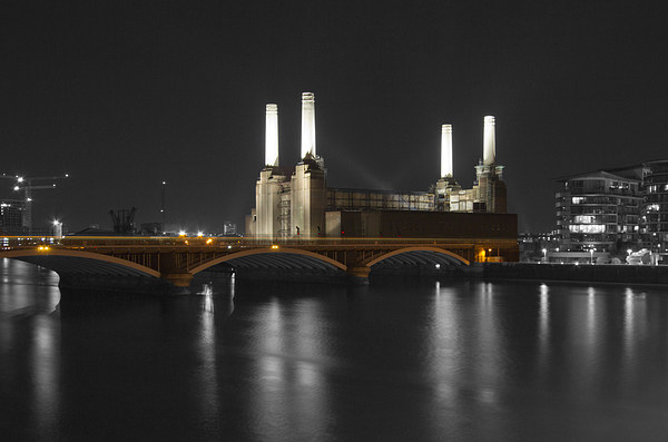 Battersea Power Station London Canvas print by David French