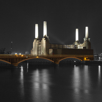Buy canvas prints of Battersea Power Station London by David French