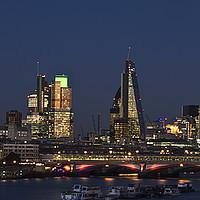 Buy canvas prints of London City Skyline by David French