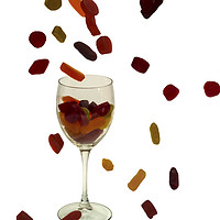 Buy canvas prints of Wine Gums Sweets by David French