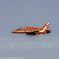 Buy canvas prints of Red Arrow by Don Nealon