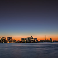 Buy canvas prints of Sunset at Cotton Tree by Pete Evans