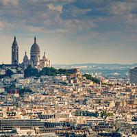 Buy canvas prints of Sacre Coeur Paris by Pete Evans