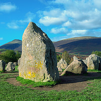 Buy canvas prints of Castlerigg Stone Circle, Cumbria UK  by Roger Driscoll