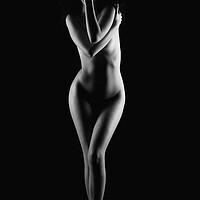 Buy canvas prints of Nude woman bodyscape by Alessandro Della Torre