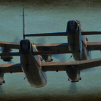 Buy canvas prints of Lancasters on old paper by Allan Durward Photography
