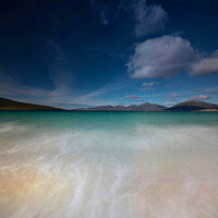 Buy canvas prints of Luskentyre Beach by Lauren McEwan