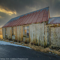 Buy canvas prints of The old Gospel Hall by Richard Ashbee
