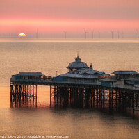 Buy canvas prints of Llandudno Pier Sunrise by Peter Lovatt  LRPS
