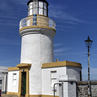 Buy canvas prints of Cromarty Lighthouse by Peter Lovatt  LRPS