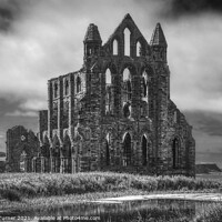 Buy canvas prints of Whitby Abbey by Tracey Turner