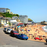 Buy canvas prints of Ventnor on the Isle of Wight. by john hill