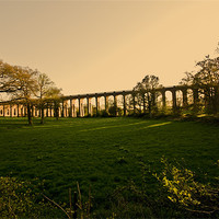 Buy canvas prints of Balcombe Viaduct by Eddie Howland