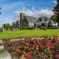 Buy canvas prints of Duncansburgh Macintosh Parish Church in Fort William, Scotland by Karol Kozlowski