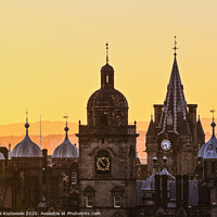 Buy canvas prints of Edinburgh by Karol Kozlowski