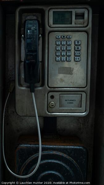 Phone Box Canvas Print by Lauchlan Hunter