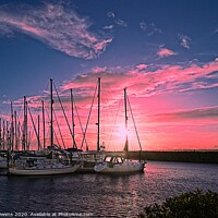 Buy canvas prints of Marina by Cecil Owens