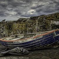 Buy canvas prints of Charlestown Boat by Barrie Tumbridge