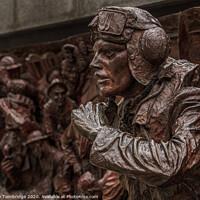 Buy canvas prints of Battle of Britain Memorial by Barrie Tumbridge