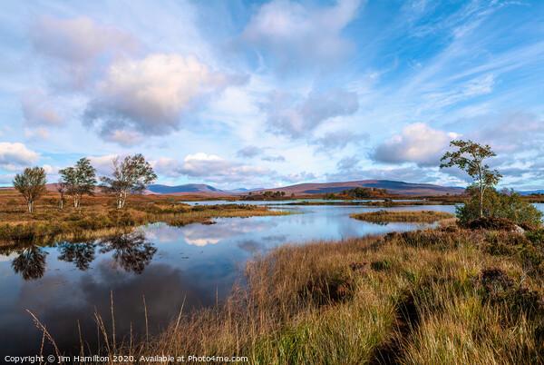 Loch Ba, Scottish Highlands Framed Print by jim Hamilton