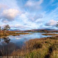 Buy canvas prints of Loch Ba, Scottish Highlands by jim Hamilton