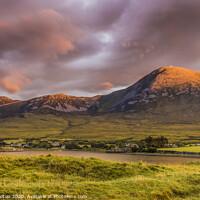 Buy canvas prints of Croagh Patrick Mountain Ireland by jim Hamilton