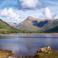 Buy canvas prints of Loch Etive, Scotland by jim Hamilton