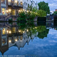 Buy canvas prints of Regents Canal by Raymond Hill