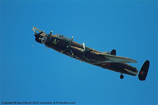 Lancaster Bomber Canvas print by David Borrill