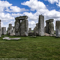 Buy canvas prints of Stonehenge by Samantha Peel