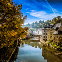 Buy canvas prints of Views along the Alzette River by Gary Sanford