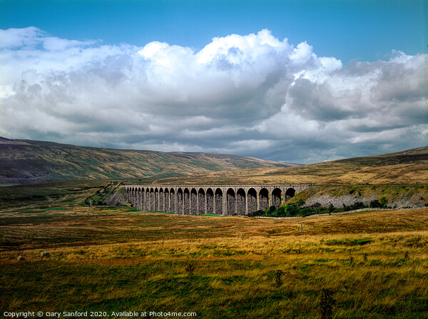 Ribblehead Viaduct, Yorkshire Dales  Framed Mounted Print by Gary Sanford
