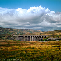 Buy canvas prints of Ribblehead Viaduct, Yorkshire Dales  by Gary Sanford