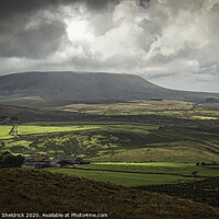 Buy canvas prints of Pendle Hill Lancashire by Heather Sheldrick