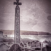 Buy canvas prints of Gothic Whitby Graveyard by Heather Sheldrick